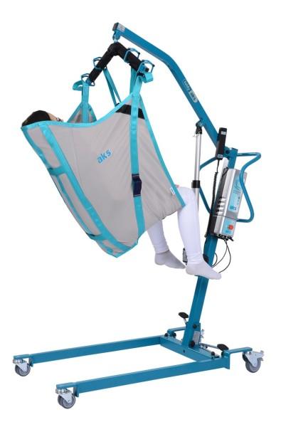 Komfortgurt aks mit integrierter Kopfstütze für Patientenlifter