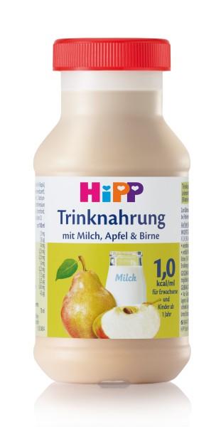 Hipp Trinknahrung Milch/Apfel/Birne vollbilanziert 6 x 200 ml
