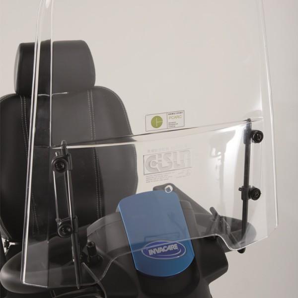 Windschild für Invacare Elektromobil