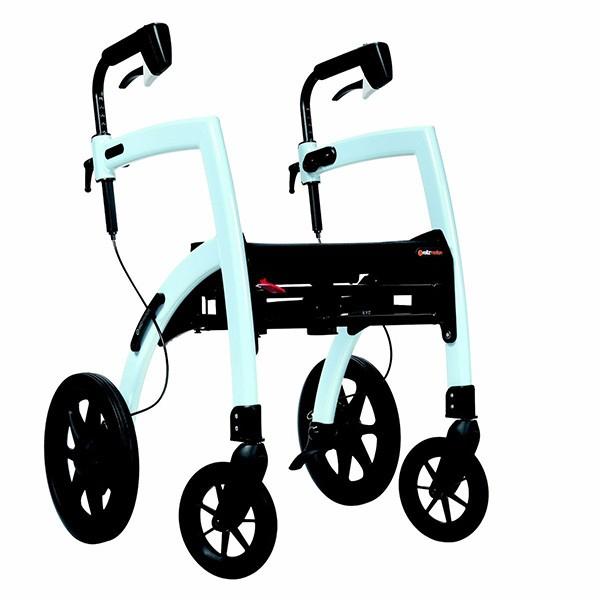 Rollz Motion 2 faltbarer Rollator und Rollstuhl in einem