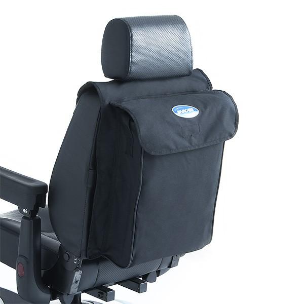 Große Sitztasche mit Klettverschluss für Invacare Elektromobile