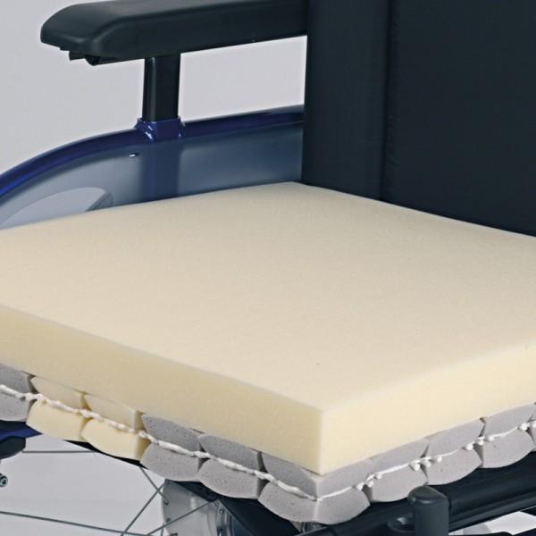 Rollstuhlkissen Kubivent Dual-Plus 10 cm