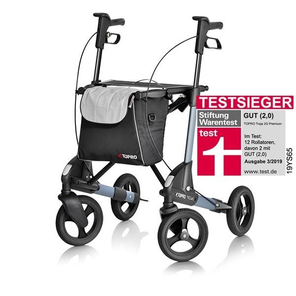 3a7f5e395c0e1c Leichtgewicht Rollator Topro Troja 2G Premium M