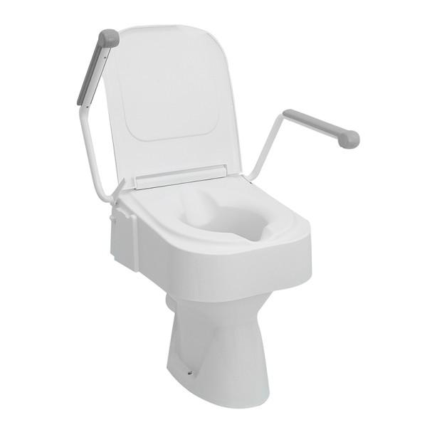 Toilettensitzerhöhung mit Armlehnen Drive TSE 150