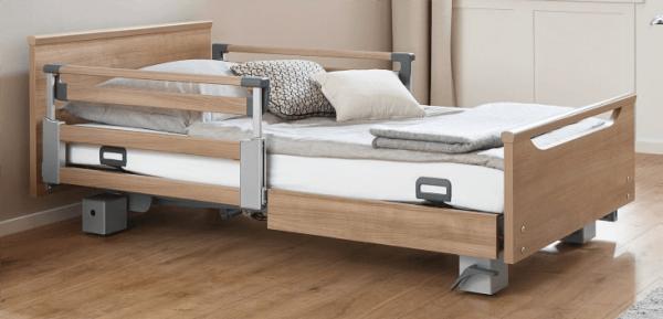 Pflegebett Burmeier Regia Easy-Switch mit TSG 110 cm kopfseitig
