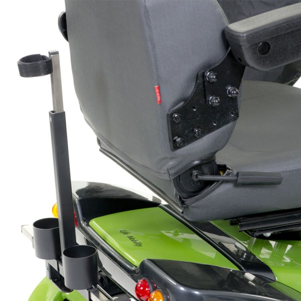 Stockhalter für Elektromobil Life & Mobility Solo und Mezzo
