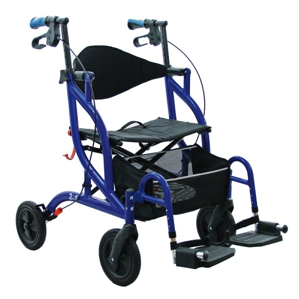 Rollator Careline Opti Rolly 2 in 1