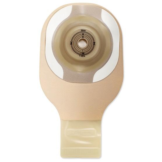 Ausstreifbeutel einteilig Hollister Moderma Flex CeraPlus konvex mit Haftrand, maxi 15-51 mm