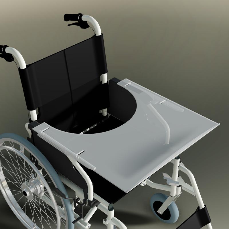 therapietisch f r trendmobil rollstuhl. Black Bedroom Furniture Sets. Home Design Ideas