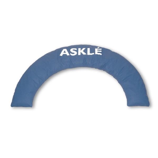 ASKLE Positionierungskissen Halbmond