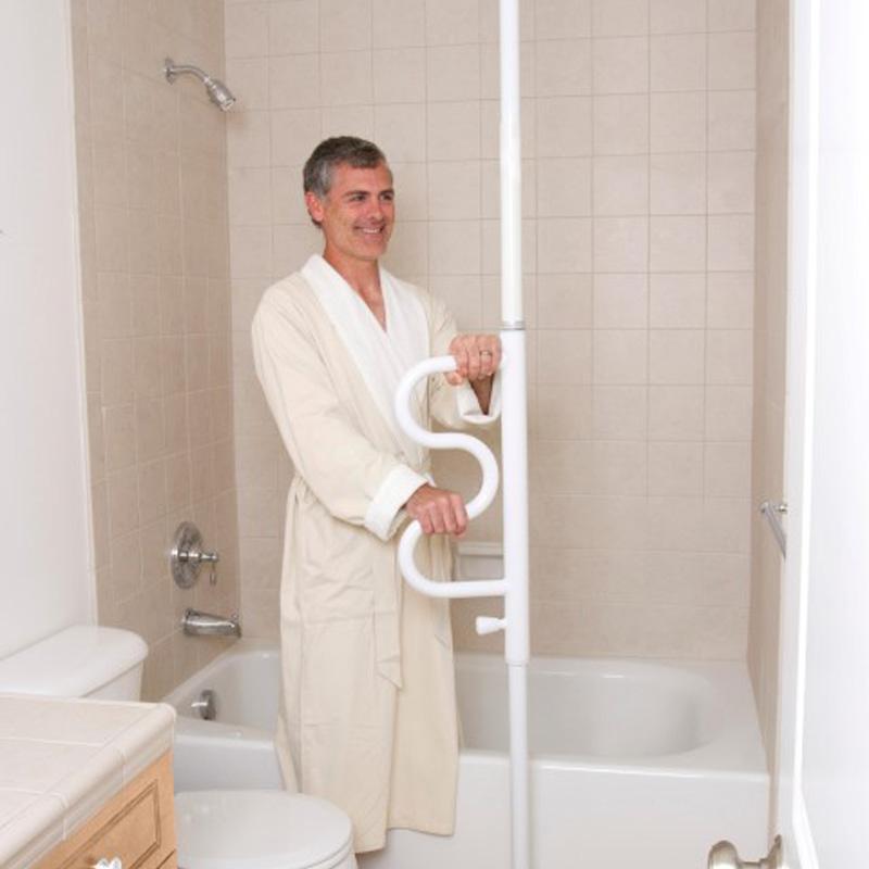 boden und deckenstange rehastage pole online sanit tshaus sanit tshaus shop. Black Bedroom Furniture Sets. Home Design Ideas