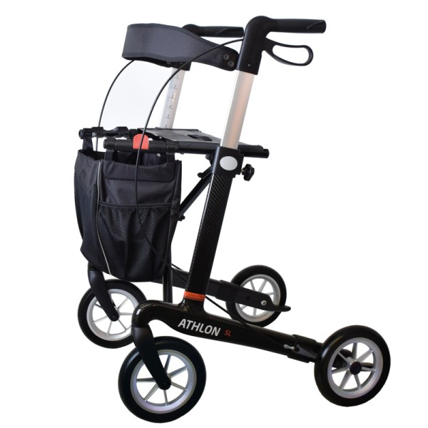 rahm Athlon² SL Carbonrollator Large in Schwarz