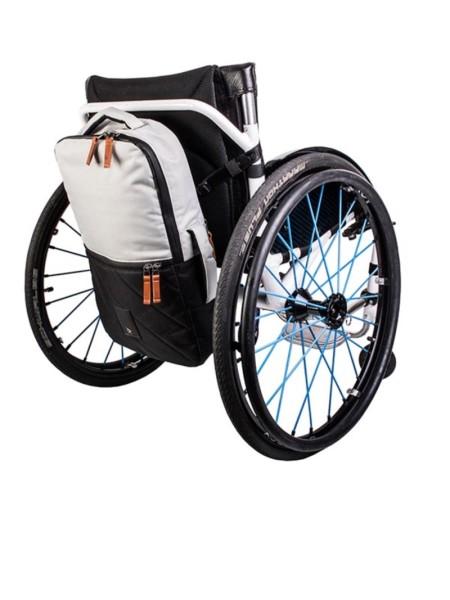 Rollstuhltasche Kinetic Balance Backrest Bag Silber/Schwarz