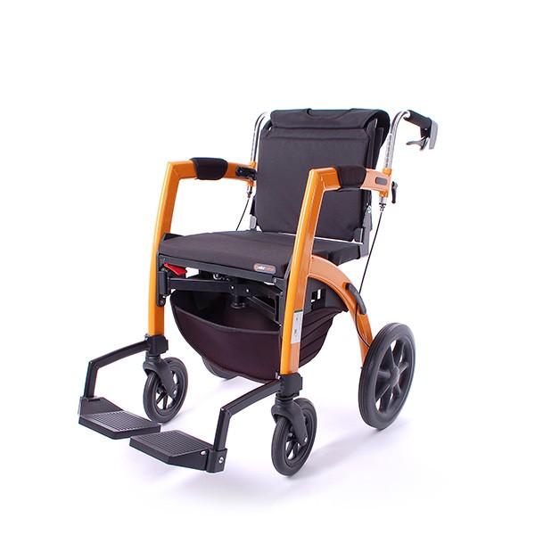 Rollz Motion faltbarer Rollator und Rollstuhl in einem