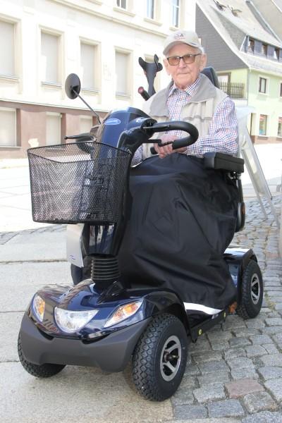 Scooter-Beinschutzdecke