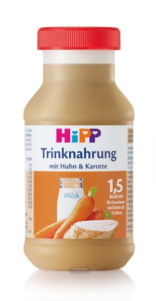 Hipp Trinknahrung Huhn/Karotte vollbilanziert 6 x 200 ml