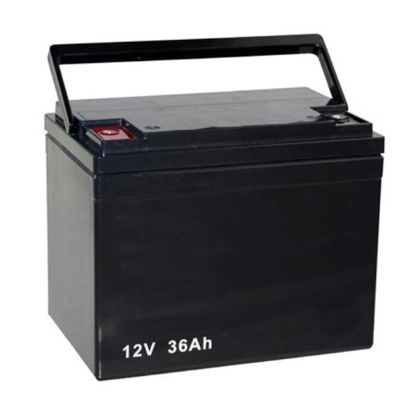 Batterie 12V / 36 Ah für Elektromobil Invacare Leo